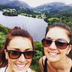 Nina and I in the Lake District